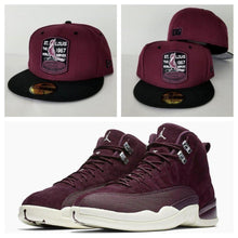 Load image into Gallery viewer, Matching New Era Maroon St. Cardinals Fitted Hat for Jordan 12 Bordeaux