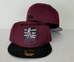 Matching New Era Maroon St. Cardinals Fitted Hat for Jordan 12 Bordeaux