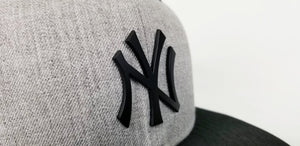 Matching New Era New York 59 Fifty Fitted hat for Air Jordan 10 Cement
