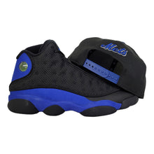 Load image into Gallery viewer, Matching New Era New York Mets 9Fifty Snapback Hat for Jordan 13 Hyper Royal