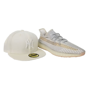 Matching New Era New York Yankees Fitted hats for Adidas 6 YEEZY BOOST 350 LUNDMARK