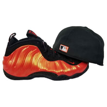 Load image into Gallery viewer, Matching New Era San Francisco Giants Fitted Hat For Nike Foamposite Habanero Red