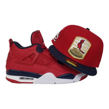 Load image into Gallery viewer, Matching New Era St. Louis Cardinals Fitted hat for Jordan 4 FIBA