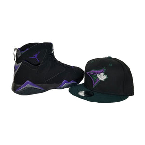 Matching New Era Toronto Blue Jay's 9Fifty Snapback hat for Jordan 7 Ray Allen