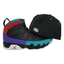 Load image into Gallery viewer, Matching New Era Toronto Blue Jays Fitted Hat For Jordan 9 Dream It Do It