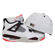 Load image into Gallery viewer, Matching New Era Toronto Blue Jays Fitted Hat for Jordan 4 Flight Nostalgia