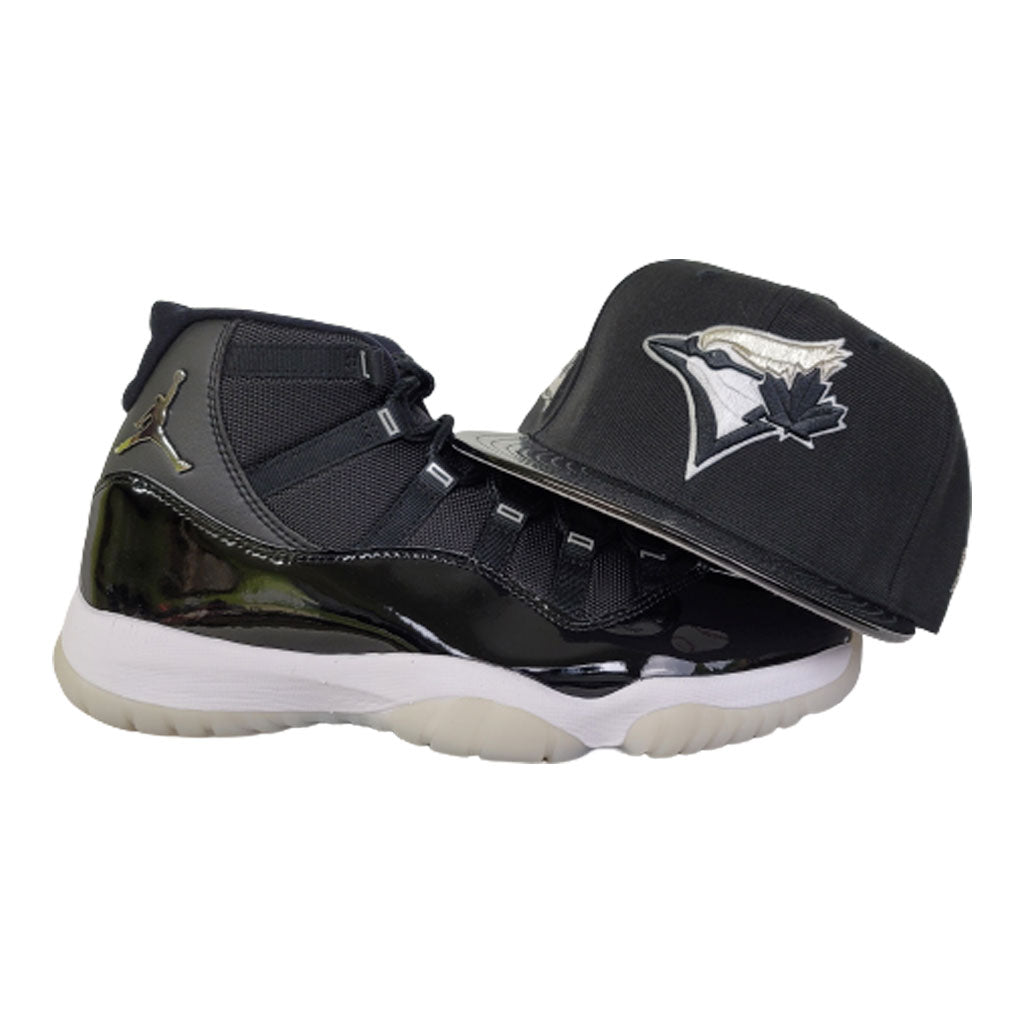 Matching New Era Toronto Blue jays Snapback Hat For Jordan 11 Jubilee