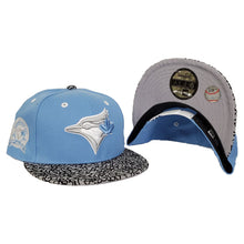 Load image into Gallery viewer, Matching New Era Toronto Blue jays Snapback Hat For Jordan 3 UNC