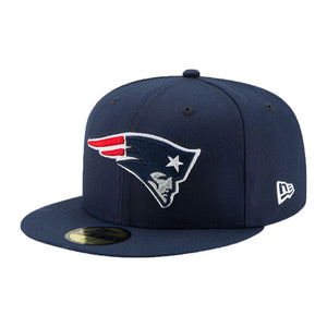 Men's New England Patriots New Era Navy Super Bowl LIII Side Patch Sideline 59FIFTY Fitted Hat