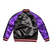 Load image into Gallery viewer, Mitchell & Ness Color Blocked Toronto Raptors Satin Light Jacket
