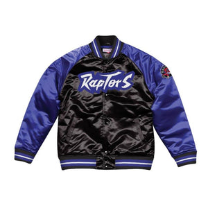 Mitchell & Ness Dallas Toronto Raptors Satin Varsity Jacket