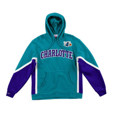 Load image into Gallery viewer, Mitchell & Ness Final Seconds Fleece Hoody Charlotte Hornets