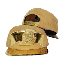 Load image into Gallery viewer, Mitchell & Ness Gold Los Angeles Lakers Snapback Hat