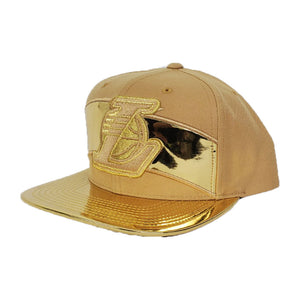 Mitchell & Ness Gold Los Angeles Lakers Snapback Hat