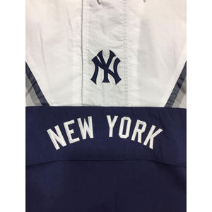 Mitchell & Ness Half Zip Anorak MLB New York Yankees Windbeaker Jacket