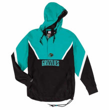 Load image into Gallery viewer, Mitchell & Ness Half Zip Anorak NBA Vancouver Grizzlies Jacket