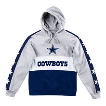 Load image into Gallery viewer, Mitchell & Ness Leading Scorer Fleece Hoody Dallas Cowboys