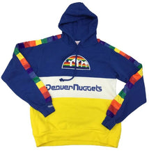 Load image into Gallery viewer, Mitchell & Ness Leading Scorer Fleece Hoody Denver Nuggets