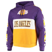 Load image into Gallery viewer, Mitchell & Ness Leading Scorer Fleece Hoody Los Angeles Lakers