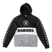 Load image into Gallery viewer, Mitchell & Ness Leading Scorer Fleece Hoody Oakland Raiders