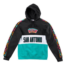 Load image into Gallery viewer, Mitchell & Ness Leading Scorer Fleece Hoody San Antonio Spurs