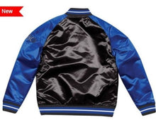 Load image into Gallery viewer, Mitchell & Ness Orlando Magic Black Satin Varsity Jacket