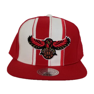 Mitchell & Ness Red / White Atlanta Hawks Snapback Hat