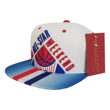 Load image into Gallery viewer, Mitchell & Ness White NBA All Star Weekend Snapback