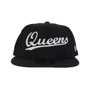 NEW ERA 59FIFTY BLACK QUEENS FITTED HAT