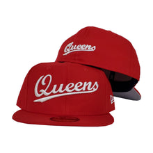 Load image into Gallery viewer, NEW ERA 59FIFTY RED QUEENS FITTED HAT