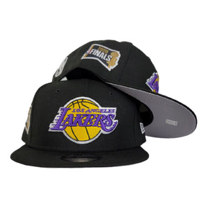 NEW ERA BLACK LOS ANGELES LAKERS NBA FINALS SIDE PATCH 9FIFTY SNAPBACK
