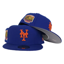 Load image into Gallery viewer, NEW ERA BLUE NEW YORK METS 1964-2008 SHEA STADIUM SIDE PATCH FITTED HAT