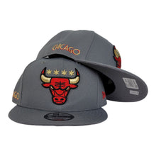 Load image into Gallery viewer, NEW ERA CHICAGO BULLS CITY EDITION 9FIFTY SNAPBACK