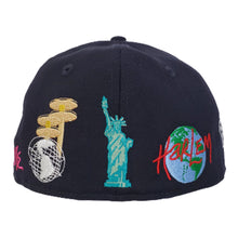 Load image into Gallery viewer, NEW ERA DAVE EAST NAVY BLUE 59FIFTY FITTED HAT