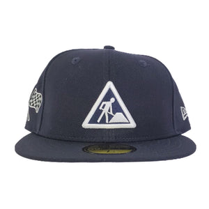 NEW ERA DAVE EAST NAVY BLUE 59FIFTY FITTED HAT