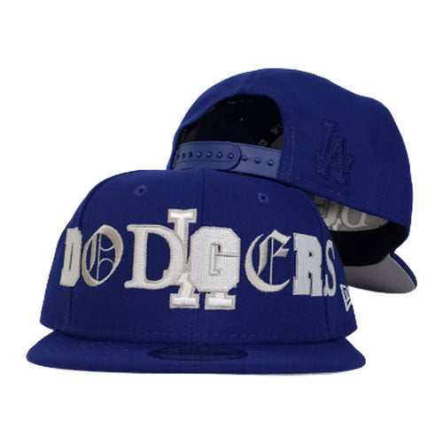 NEW ERA LOS ANGELES DODGERS MIXED FONT 9FIFTY SNAPBACK