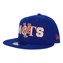Load image into Gallery viewer, NEW ERA NEW YORK METS MIXED FONT 9FIFTY SNAPBACK
