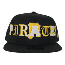 Load image into Gallery viewer, NEW ERA PITTSBURGH PIRATES MIXED FONT 9FIFTY SNAPBACK