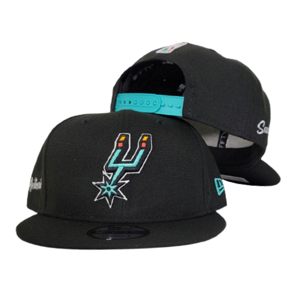NEW ERA SAN ANTONIO SPURS CITY EDITION 9FIFTY SNAPBACK