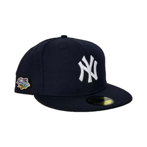 NEW YORK Yankees 1999 WORLD SERIES METAL PIN NEW ERA 59FIFTY FITTED HAT