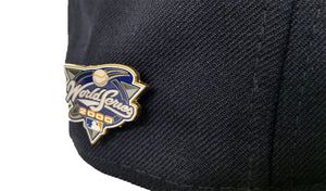 NEW YORK Yankees 2000 WORLD SERIES METAL PIN NEW ERA 59FIFTY FITTED HAT