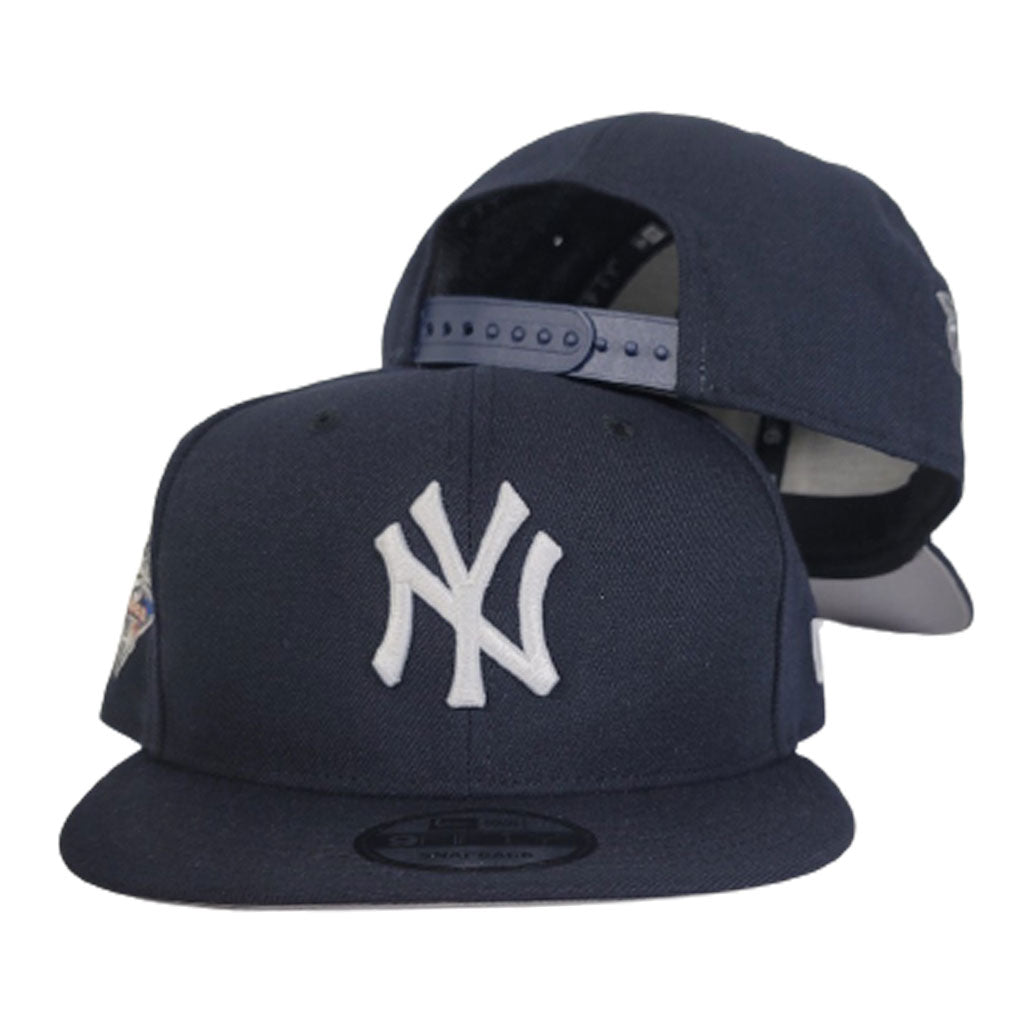Navy Blue New York Yankees Grey Bottom 2000 World Series New Era 9Fifty Snapback