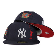 Load image into Gallery viewer, Navy Blue New York Yankees Red Bottom Statue of Liberty New Era 59Fifty Fitted
