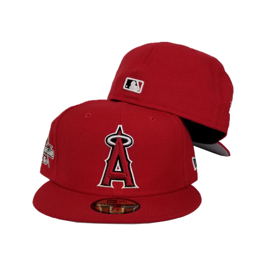 New Era 2010 All Star Game Red Los Angeles Angeles Fitted 59Fifty Hat