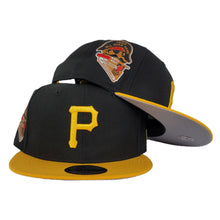 Load image into Gallery viewer, New Era Black / Yellow Grey Bottom Pittsburgh Pirates 1959 All Star Game Snapback Hat