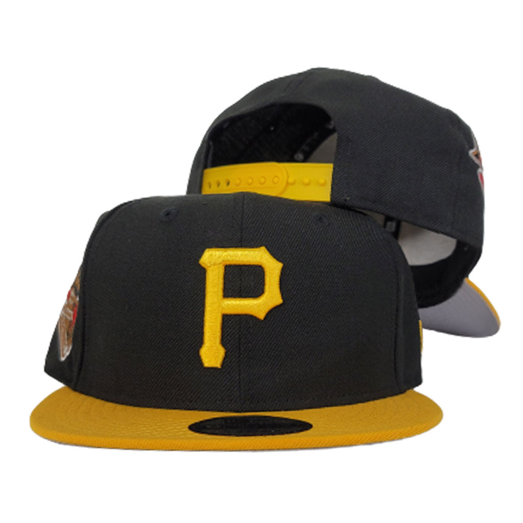 New Era Black / Yellow Grey Bottom Pittsburgh Pirates 1959 All Star Game Snapback Hat