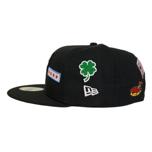 New Era Black Chicago Bulls Souvenir 59FIFTY Fitted