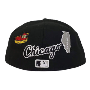 New Era Black Chicago White Sox Souvenir 59FIFTY Fitted