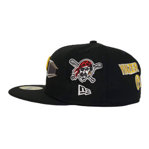New Era Black Pittsburgh Pirates Souvenir 59FIFTY Fitted