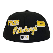 Load image into Gallery viewer, New Era Black Pittsburgh Pirates Souvenir 59FIFTY Fitted